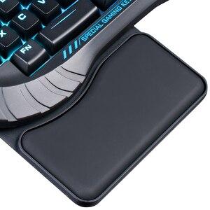 Image 3 - AULA Teclado mecánico retroiluminado Macro RGB de una sola mano, juego de interruptor azul, PUBG, para jugador, una mano, Split, Mini teclados para juegos, ordenador