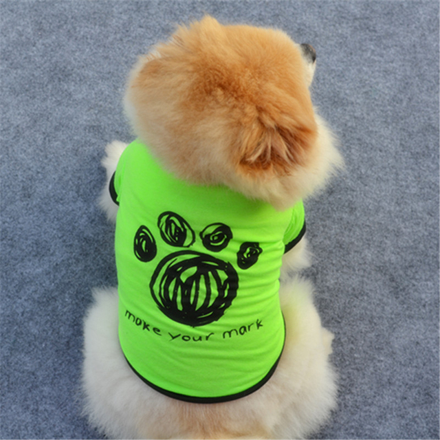 """Lovely Fashion Dog Set Funny Words """"Hug Me/All Star/ I give free kisses"""" Dog Clothes Warm Spring XS-L Size Puppy DogsP1"""