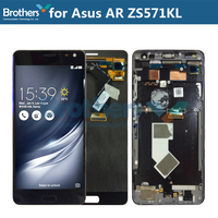 For Asus Zenfone AR ZS571KL LCD Display With Frame Touch Screen Digitizer for ASUS ZS571KL LCD Assembly LCD Screen Repair Parts