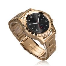 Luxus Pulsmesser Uhr Armbanduhr Android Telefon Smartwatch Bluetooth Smart Uhr für Samsung S4/Anmerkung 3 HTC Smartphones