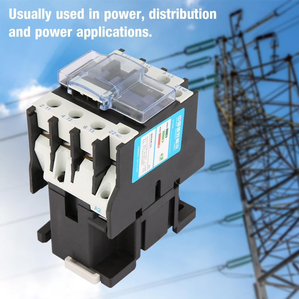 380V 65A CJX2-6511 High Sensitivity Industrial Electric AC Contactor
