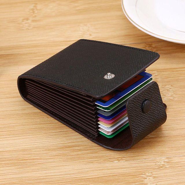 Leather Wallet ID Credit Card Pocket Organizer Money  3