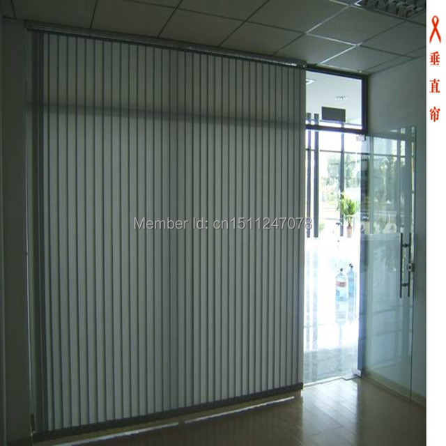 Factory Direct High Quality Indoor Manual Modern Office Vertical Blinds