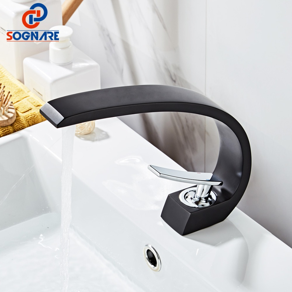 Contemporary Basin Faucet for Bathroom Sink Faucet Black Faucet Painting Finish Basin Sink Tap Mixer Hot&Cold Water Basin MixerContemporary Basin Faucet for Bathroom Sink Faucet Black Faucet Painting Finish Basin Sink Tap Mixer Hot&Cold Water Basin Mixer