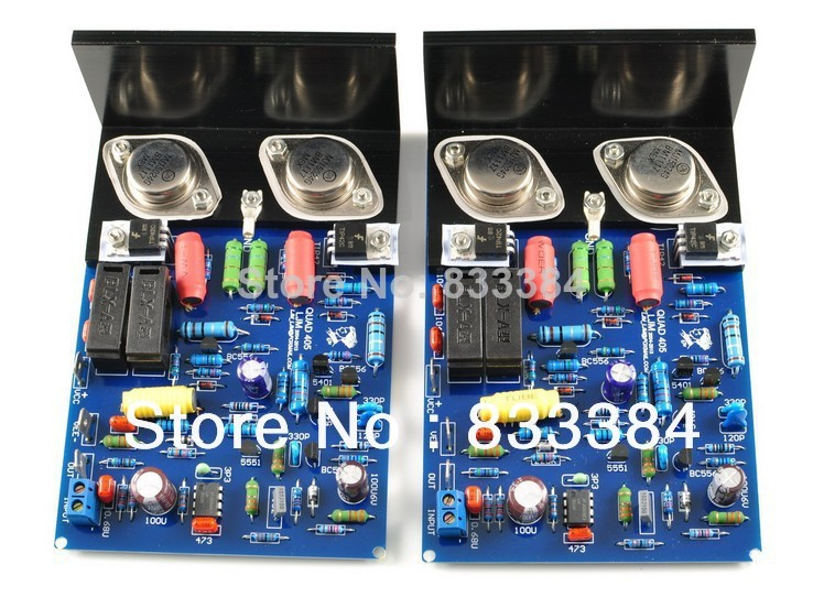 QUAD405 2PCS amplifier board high power suite fever finished accessories AC 35V * 2 FREE SHIPPING tas5630 amplifier class d board high power finished boards mono 600w for subwoofer or full range diy free shipping