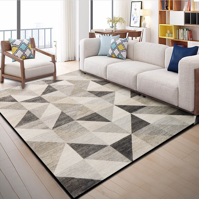 Nordic Style Carpets For Living Room Home Decor Bedroom Carpet Non Slip Rug Sofa Coffee Table Floor Mat Study Room Endless Rugs in Carpet from Home Garden