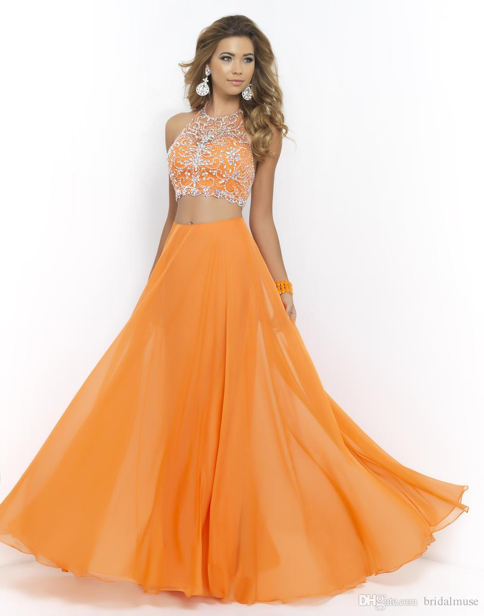 Online Get Cheap Modest Orange Prom Dress -Aliexpress.com ...