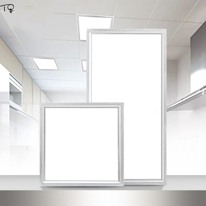 LED intégré plafonnier cuisine épaississement économie d'énergie Art panneau aluminium acrylique toilette bureau moderne simplicité