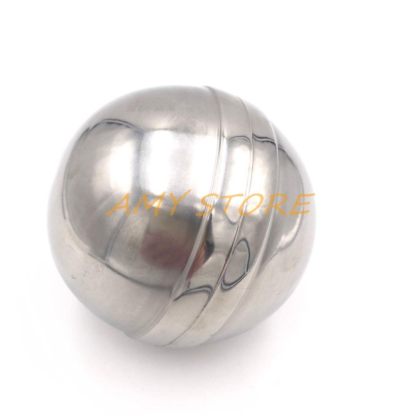 """1) 4"""" 100mm Ball Stainless Steel Water Boiler Machine Float Valve Level Switch Sensor Ball"""