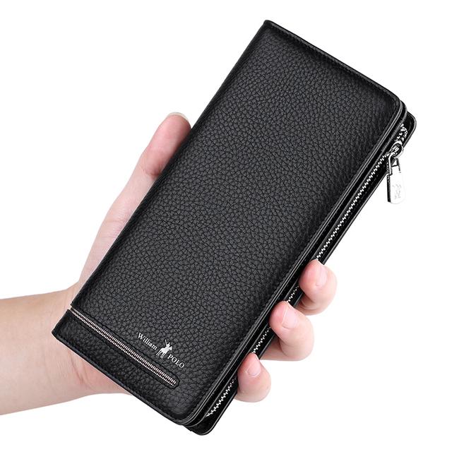 Men's Luxury Business Leather Wallets