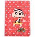 Para el Ipad Min 4 Ipad Air1 Air2 dibujos animados moda Crayon Shin chan Hello Kitty Flip soporte PU funda protectora de la tableta