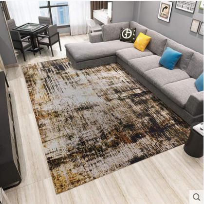Épaissi corail velours plaine tapis salon table basse coussin chambre chevet couverture pleine de corail polaire slip porte tapis