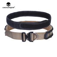 Emerson Tactical Hunting Cobra Belt 1.75 to 2 inch D Ring Rigger Duty Belt Outdoor Inner Outer One piece Combat Sport Belt