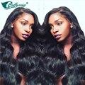 Необработанные Малайзии Естественная Волна Полные Парики Шнурка С Волосами Младенца Glueless Девы Волос Полное Кружева Парики Человеческих Волос для Черного женщины