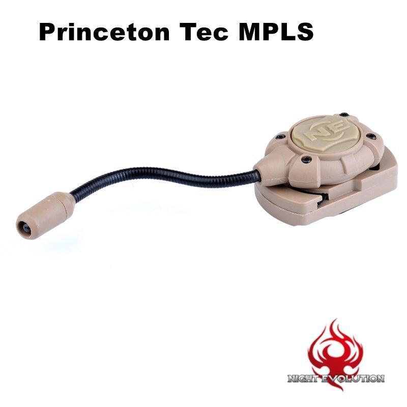 Prix pour Nuit Evolution Princeton Tec MPLS Casque Lumière Modulaire w/Molle Mount Militaire Combat En Plein Air lampe de Poche NE 05012