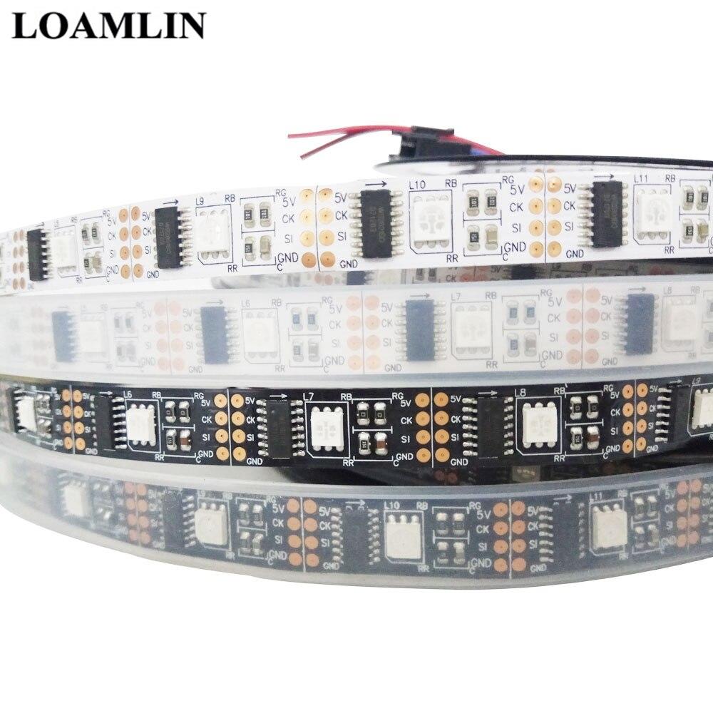 WS2801 Intelligent  Led Strip SMD5050  5V 32Led/m Individually Addressable Tape Full Dream Color Light IP30 IP65 IP67