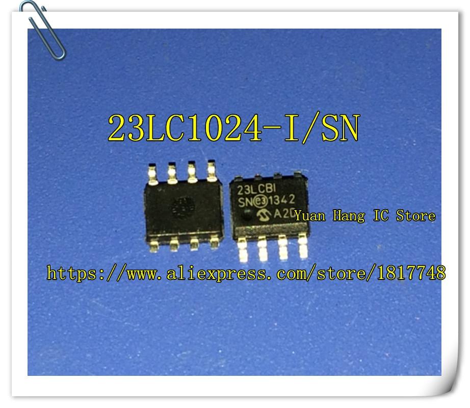 все цены на  5PCS/LOT 23LC1024-I/SN 23LC1024 23LCBI 23LCBI/SN SRAM 1MBIT SDI / SQI 20 MHZ SOP8  онлайн