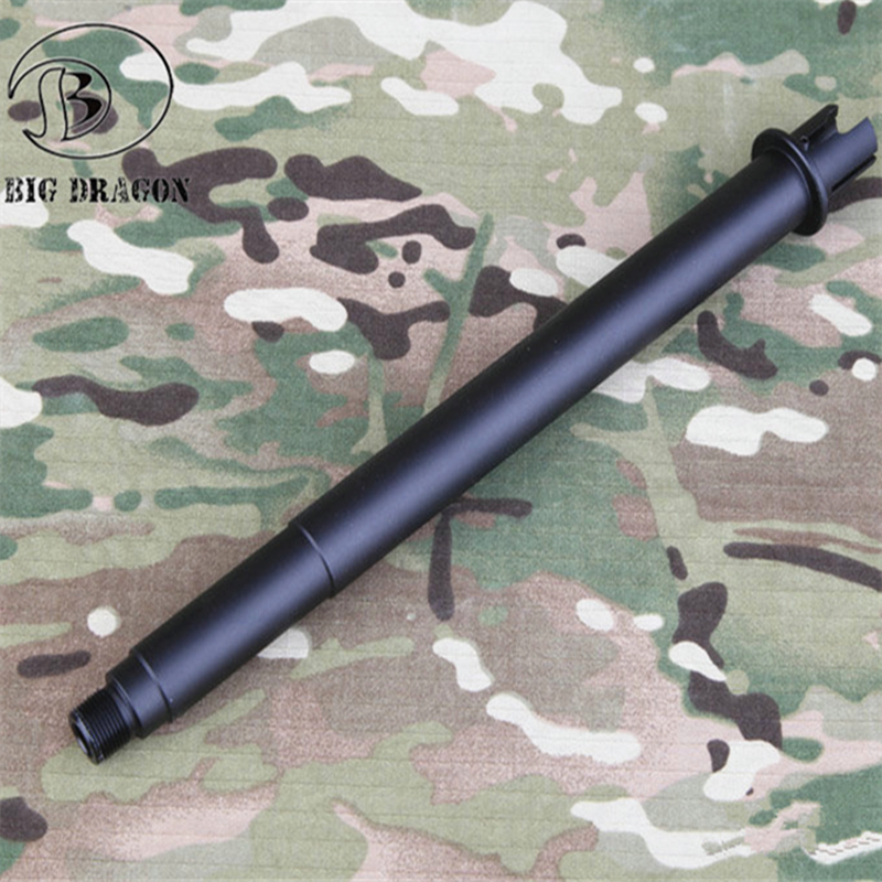 "M4 MK18 Aluminum Outer Tube ASG Outer Tube 10,8"" Metal BD Toy Airsoft For AEG M4 Hunting Party(China)"