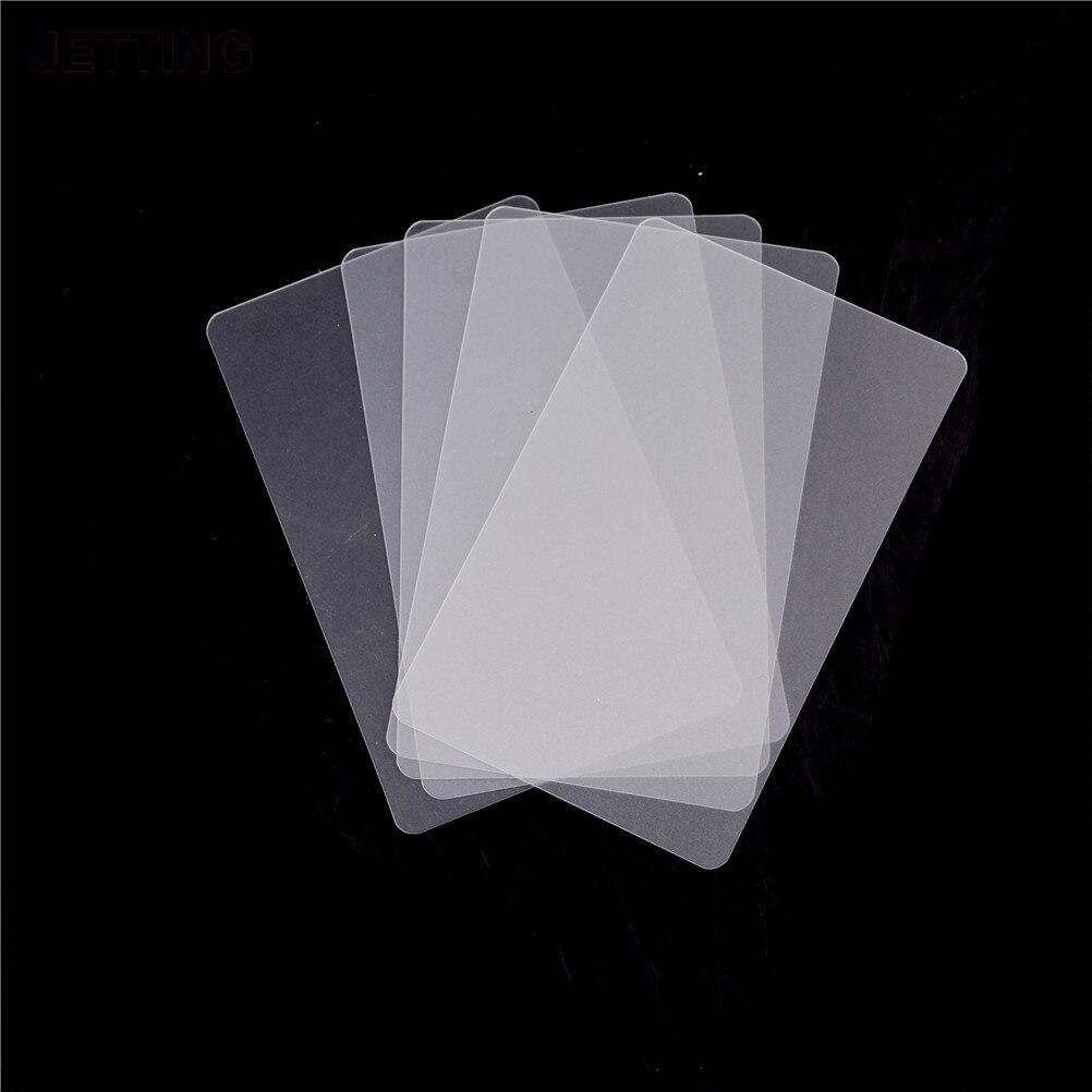 JETTING 5PCS Handy Plastic Card Pry Opening Scraper For IPad Tablet For Samsung Mobile Phone Glued Screen Repair Tool