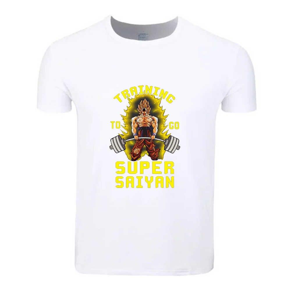 Сон Гоку го Бодибилдинг хлопок Студенческая футболка на заказ Повседневная футболка с короткими рукавами для мужчин и женщин мальчиков и девочек футболки детская футболка