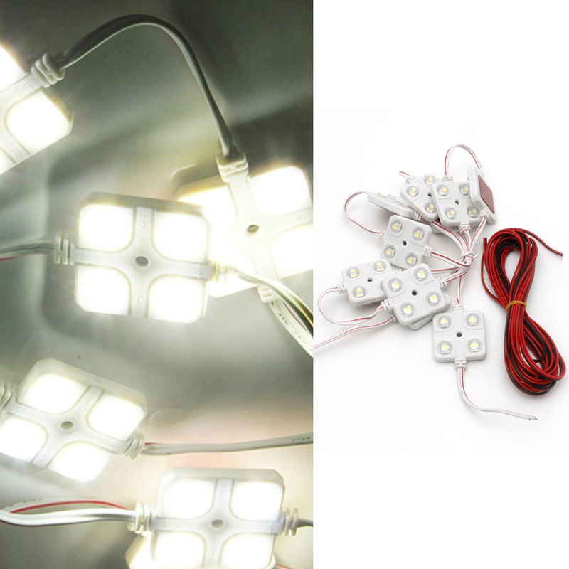 40 Led Waterproof 5050 Truck/cargo White Bed Lighting Light Kit For Van Lorries Good Companions For Children As Well As Adults