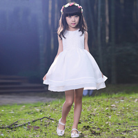 High Quality White First Communion Dresses For Girl Infant Toddler Pageant Flower Girl Dress For Wedding