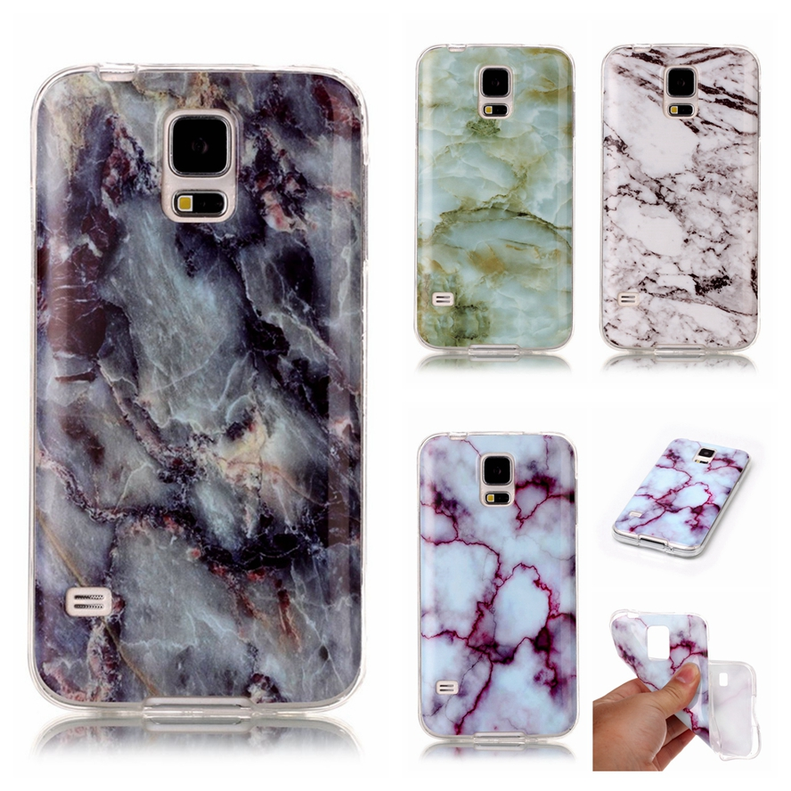 for coque samsung galaxy s5 case silicone marble tpu back. Black Bedroom Furniture Sets. Home Design Ideas