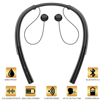 Bluetooth Earphones Neckband Wireless Headphone Headset hands Free Noise Cancelling Headphones for Sports Earphone with Mic
