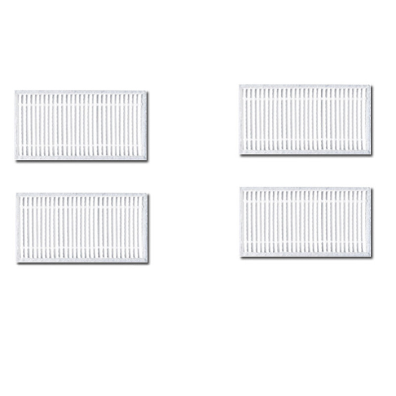 Mmfc-6pcs Replacement Hepa Filter For Panda X600 Pet Kitfort Kt504 For Robotic Robot Vacuum Cleaner Accessories Home Appliances Cleaning Appliance Parts