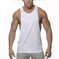 Musculation Vest Bodybuilding Clothing And Fitness Men Undershirt Solid Tank Tops Blank Golds Men Undershirt