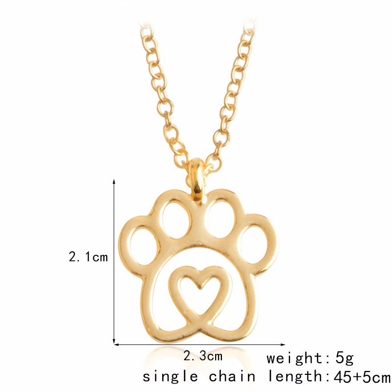 I Love Paw Necklace 5