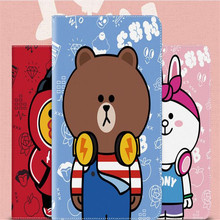 New arrive cartoon Brown bear Minnie rabbit pattern tablet case for ipad 2 3 4 common brand quality cover with parcel