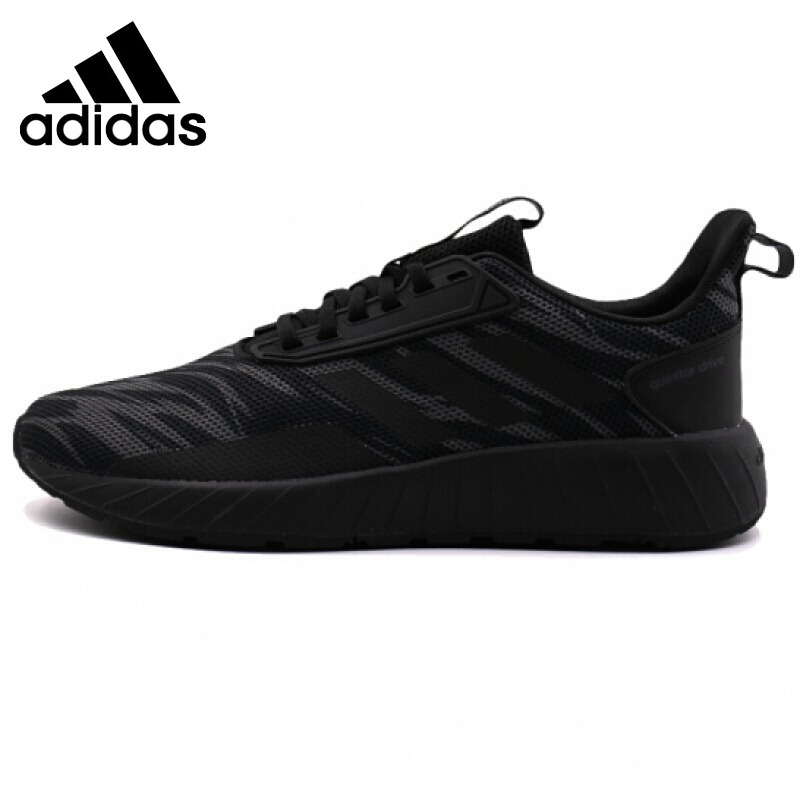 Original Adidas NEO Label QUESTAR DRIVE Men's Skateboarding Shoes Sneakers Leisure Breathable Cotton Fabric Low Top Flat Shoes