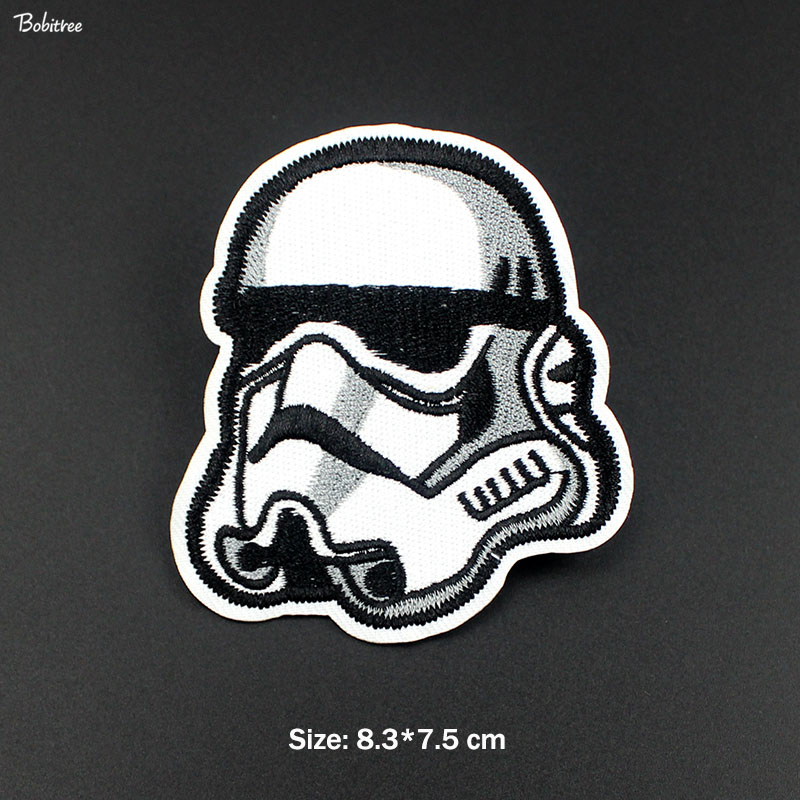 1Pcs New Star Wars Commander Trooper Storm Patch Badge Iron on Embroidered Stickers for Jacket Jeans Backpack Patches