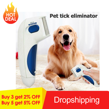 Pet Flea Lice Cleaner Comb Electronic Dog Cleaning Brush Pets Controller Killer Remover Products for Dropshipping