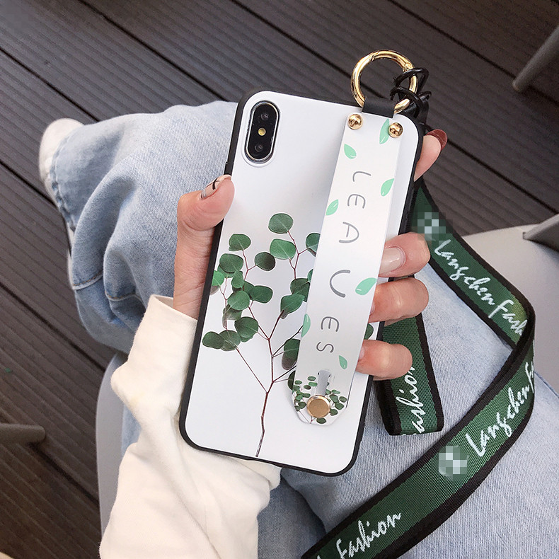 HTB1aYCkefWG3KVjSZFgq6zTspXak Wrist Strap Phone Case for iPhone XS Max X XR Cover iPhone 7 8 Plus 6 6S 11 Pro Max Case Luxury Neck Lanyard iphone 6s case