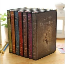 2018 Game of Thrones Planner Notebook A Song of Ice and Fire A5 Size Stationery Office WJ-XXWJ331-