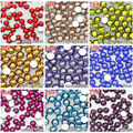 1000pcs/bag  4mm flatback multicolor resin rhinestones for Nail Art Mobile phone and jewelry Making DIY,Free shipping