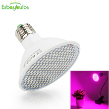 Светодиодный светильник для выращивания, полный спектр, фитолампия, Фито, лампа E27, лампа для растений, светильник от солнца для овощей, посев цветов, теплица, растительный светильник, ing