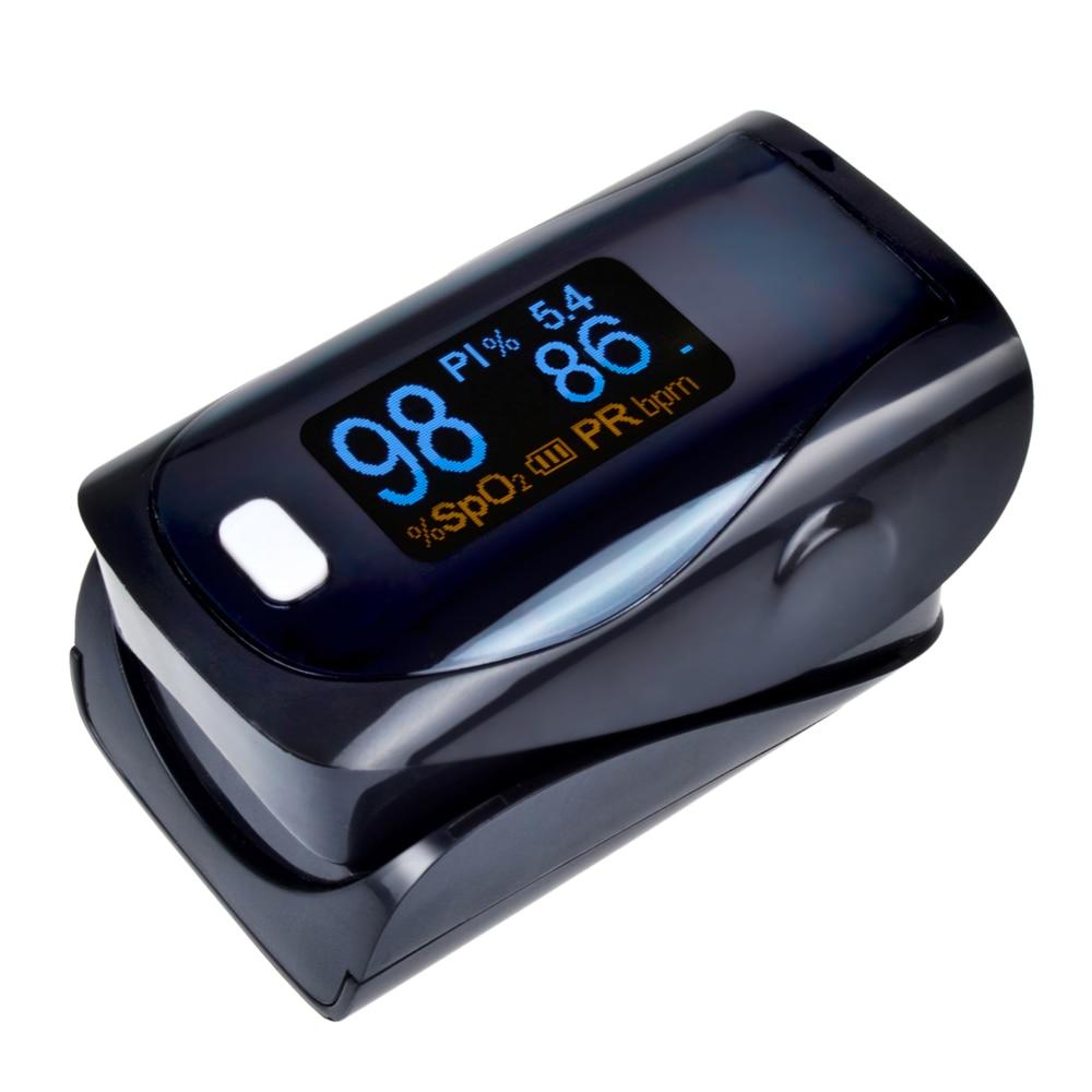 ELERA 10pcs/lot Digital Finger Pulse Oximeter WITH CASE