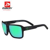 DUBERY Polarized Sunglasses Men Vintage Brand Designer Sun Glasses For Men S Brand Eyewear Summer Style