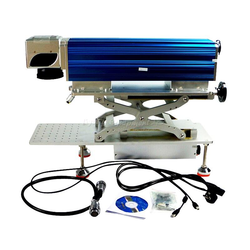 New LY FB-01 smart desktop fiber laser marking machine 20W ipg 1 mj ylp series high average power fiber laser of laser marking machine