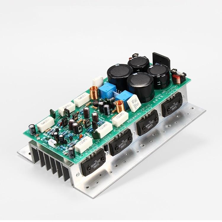 HIFI High Power Audio Amplifier Board 450W 450W Stereo Stage AMP Mono 800W 8pcs Sanken Chip