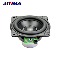3 Polegadas Alto-falantes De Áudio Gama Completa Falante 4Ohm 12.5-30 W Alta Força Magnética de Neodímio Baixo Luz Bacia De Alumínio para AURA