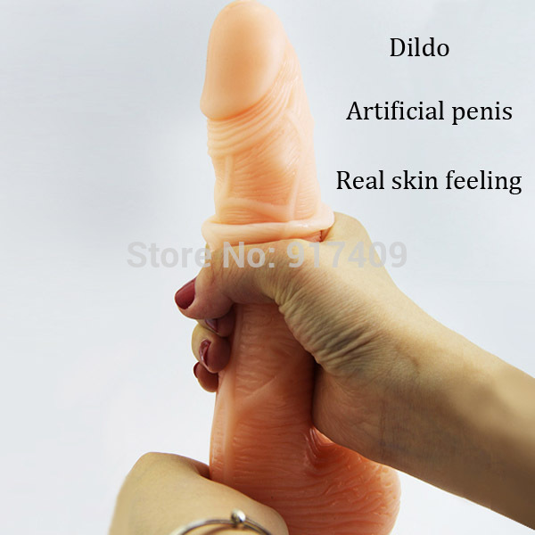 Sex Products Flexible Dildo Artificial Penis For Female -5695