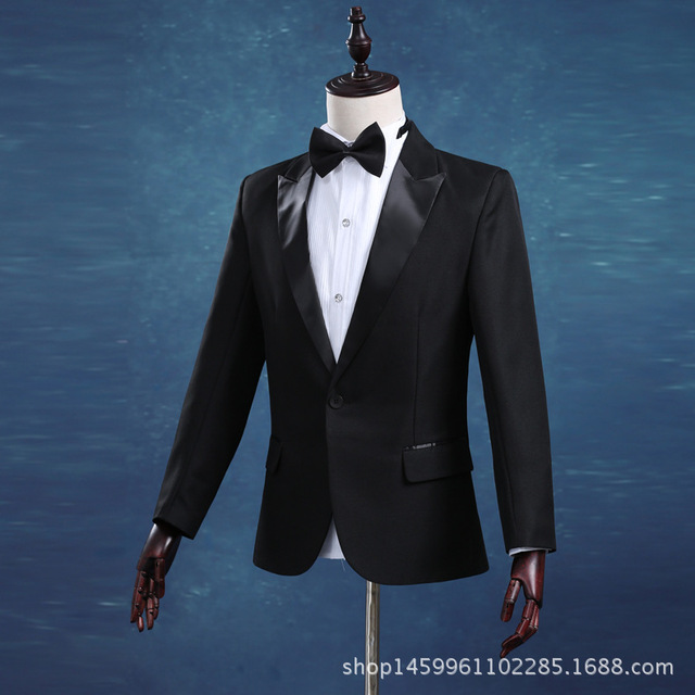 New Groom Tuxedos Mans Prom Suits Wedding Suit For Men Best Man ...