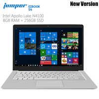 Jumper EZbook S4 Laptop 8GB RAM 128/256GB SSD 14.0 Inch Windows 10 Intel Apollo Lake N4100 Quad Core Notebook 1920*1080 display