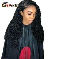 Вьющиеся натуральные волосы парик Braizlian волос Синтетические волосы на кружеве натуральные волосы парики для черный Для женщин сплетни пари