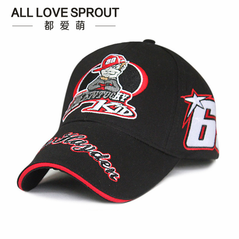 2017 NEW Sport Cap Car Motocycle Racing hat MOTO GP Nick Heidfeld 69 Բեյսբոլի գլխարկ գլխարկներ