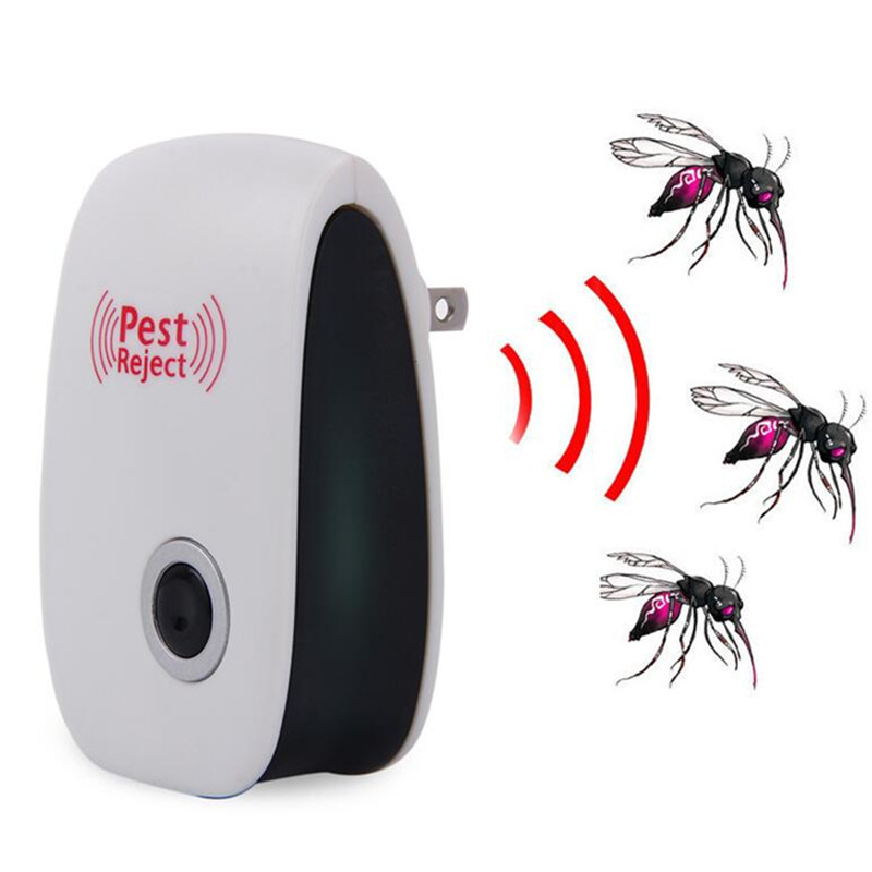 Ultrasonic Pest Repeller Electronic Mouse Bug Repellent Mosquito Pest Rejector Killer Pest Control Device Anti Insects Access Control Security & Protection